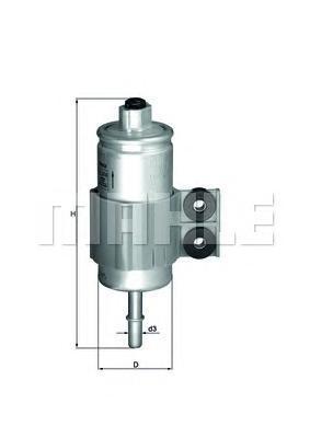 Фильтр топливный HondaKL510
