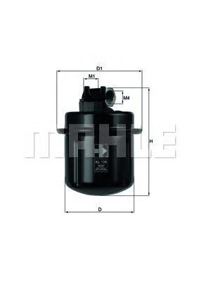 Фильтр топливный Honda Prelude 4 KL109KL109