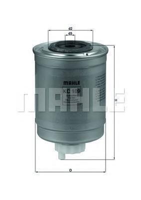 Фильтр топливный FORD TRANSIT 2.5TD 94KC109