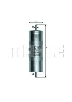 Фильтр топливный BMW: 3 87-91, 3 90-98, 3 CompactKL35
