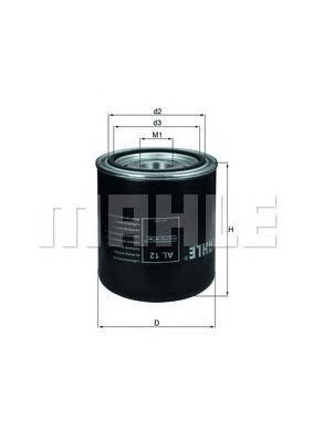Фильтр воздушный DAF,IVECO,MANAL12