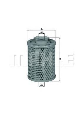 Фильтр масляный груз.авто _DAF: F 1100 FA 1100 DD/HX5