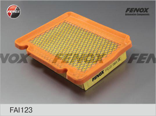 Фильтр воздушный Chevrolet Aveo 05- 1.2-1.5, Kalos 05- 1.2, 1.4FAI123