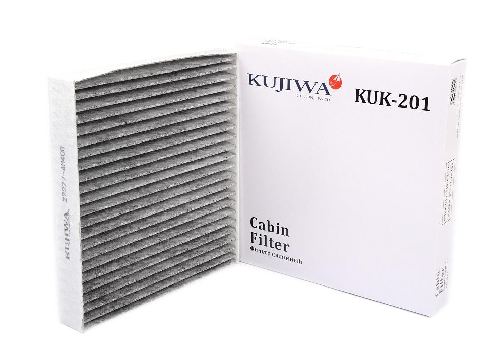 Фильтр салона угольный KUK201 KUJIWA 272774M400 NISSANKUK201