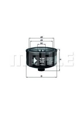 Фильтр масляный VW: LT 28-46 2.8TDI 97- VWOC404