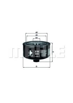 Фильтр масляный VW: LT 28-46 2.8TDI 97- VW