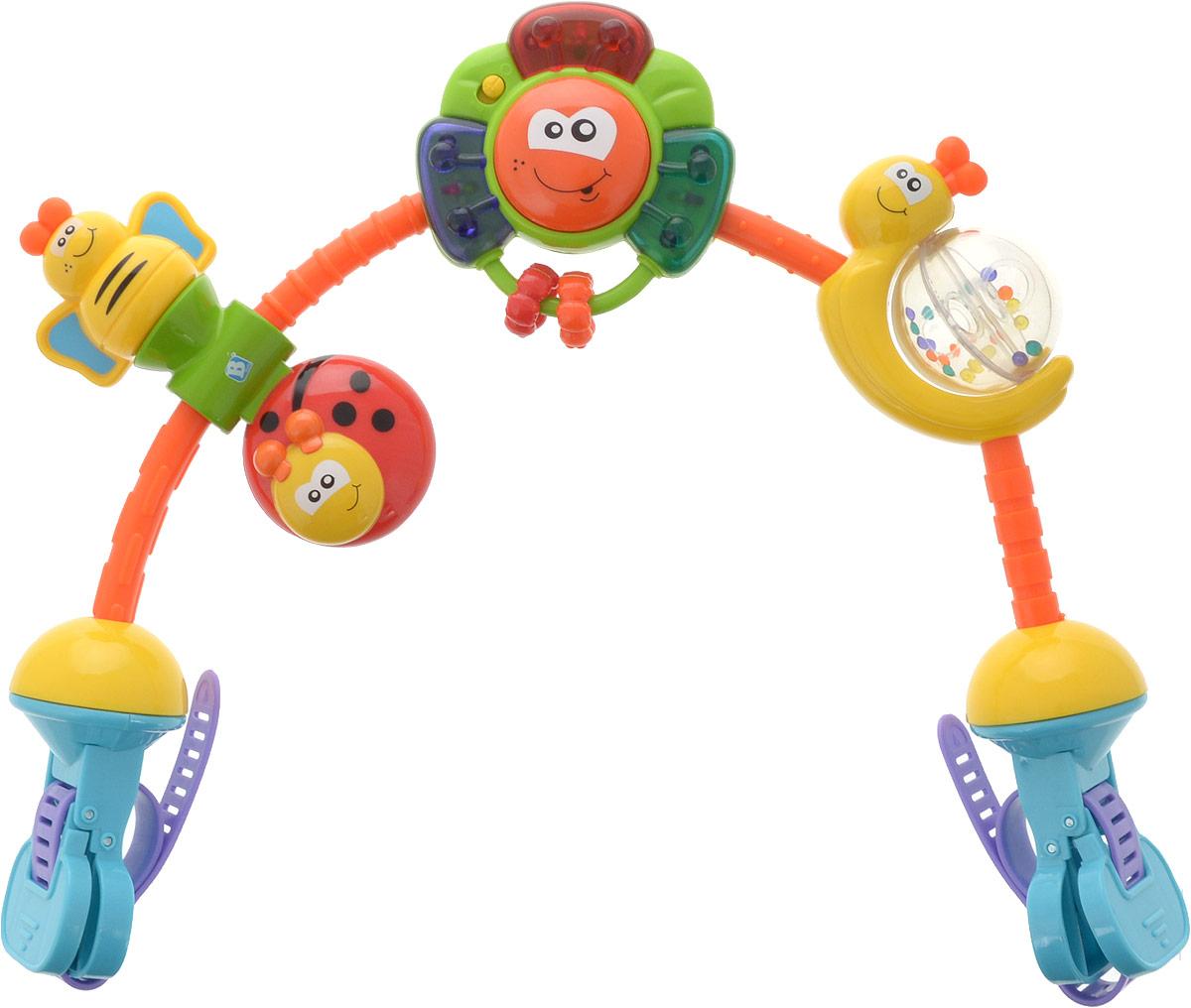 Bkids Дуга развивающая на коляску Цветок - Игрушки для малышей