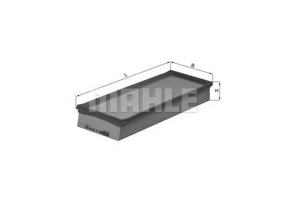Фильтр воздушный BMW MINI COOPER 1.6 06- BMWLX2038