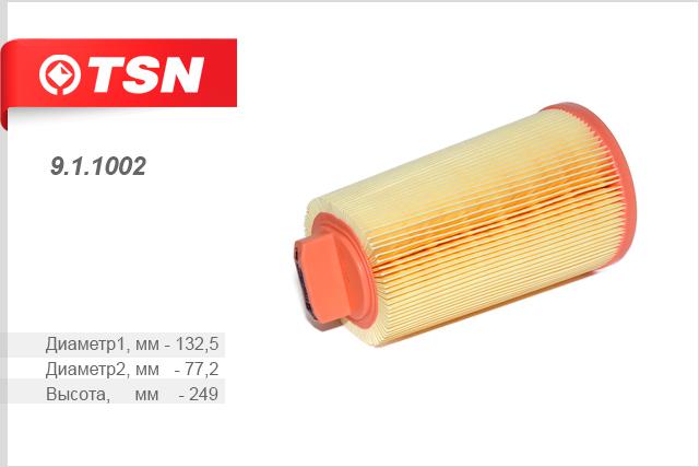 Фильтр воздушный MERCEDES-BENZ C-CLASS II (S203) Kombi 03/01 -911002