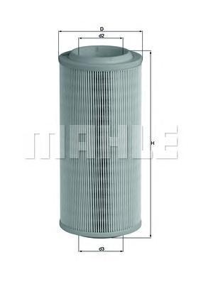 Фильтр воздушный AUDI A2 1.4 00-05LX1595