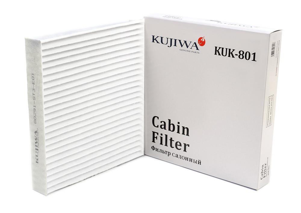Фильтр салона KUK801 KUJIWA 80291ST3E01 HONDAKUK801