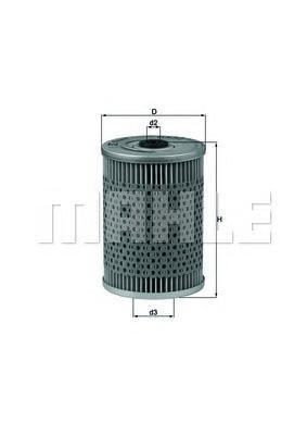 Фильтр масляный (картридж) MB W116, W123, W126 2.8-5.6 70-91OX32D