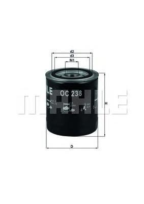 Фильтр масляный JAGUAR XJ 81-99OC238