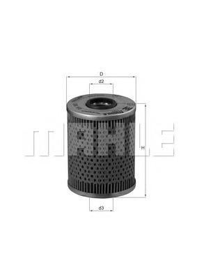 Фильтр масляный BMW: 3 94-98, 3 кабрио 94-99, 3 каOX187D