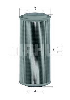 Фильтр воздушный SEAT: AROSA 97-04, CORDOBA 97-99,LX685
