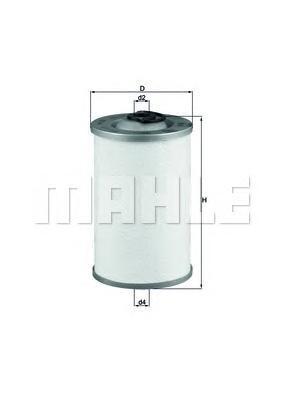 Фильтр топливный MAN KX44D div.KX44D
