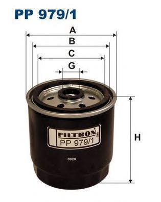 Фильтр топливный Hyundai Accent II, Getz, Mat Hyundai Accent II, Getz, MatrixPP9791