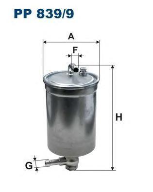 Фильтр топливный AD A4.2.7TDI/3.0TDI 04-> Audi A4 (B6,B7/8E,8H)PP8399