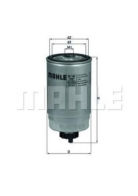 Фильтр топливный ALFA ROMEO: 147 01-, 156 00-05, 1KC140