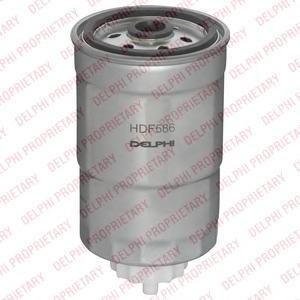 Фильтр топливный (дизель)HDF586