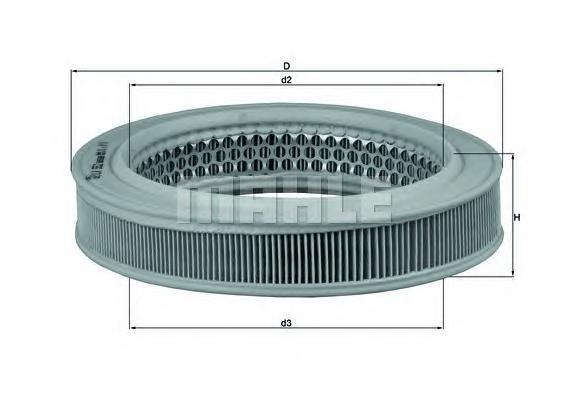 Фильтр воздушный KIA: PRIDE 90-, MAZDA: 121 I 87-90, 121 II 90-96 цены онлайн