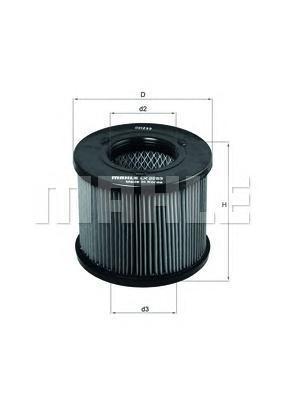 Фильтр воздушный ISUZU: D-MAX 2.5D/3.0DITD, TROOPE двигатель 4jb1t isuzu elf