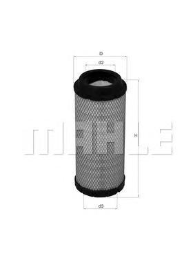 Фильтр воздушный LX1673LX1673