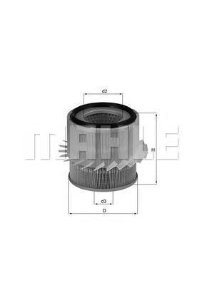 Фильтр воздушный LX 683LX683
