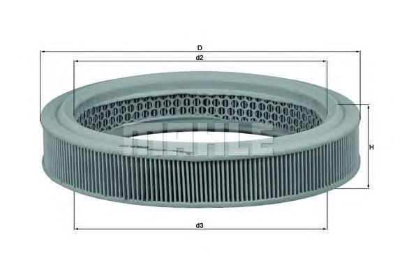 Фильтр воздушный Lance LX482LX482