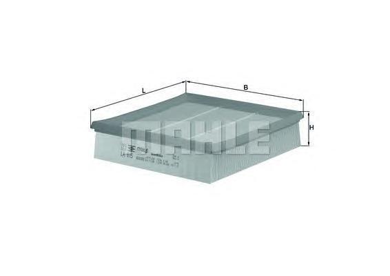 Фильтр воздушный FORD: TRANSIT c бортовой платформLX615