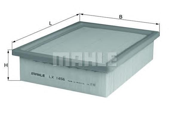 Фильтр воздушный FORD MAVERICK 2,0-3,0LX1456