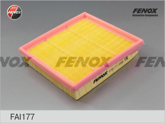Фильтр воздушный Honda Civic 91-01 1.5, 1.6, CR-V 95-02 2.0, HR-V 99- 1.6FAI177