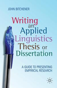 Writing an Applied Linguistics Thesis or Dissertation peter walton an executive guide to ifrs content costs and benefits to business