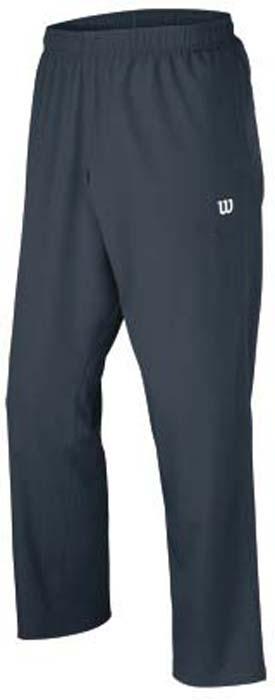 Брюки для тенниса мужские Wilson Rush Color Inset, цвет: синий. WRA725501. Размер M (50)WRA725501Мужские брюки для тенниса Wilson «Rush Color Inset» подарят вам особенный комфорт до и после матча. Модель изготовлена из полиэстера. Брюки стильного дизайна не сковывают свободу движений. Широкий эластичный пояс отвечает за идеальную посадку. Модель идеальна для занятий теннисом.