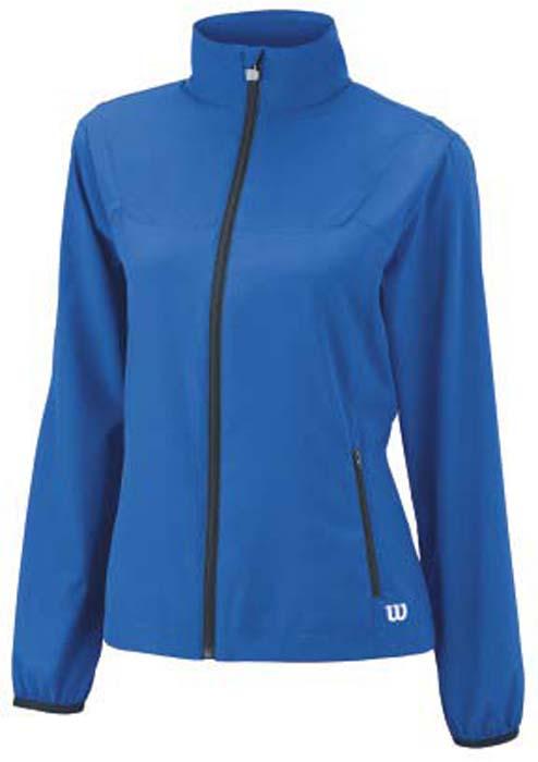 Ветровка для тенниса женская Wilson Rush Woven, цвет: синий. WRA724902. Размер XS (42)WRA724902