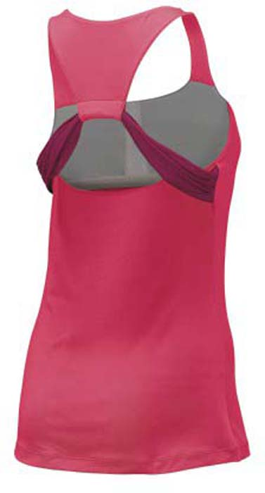 Майка для тенниса женская Wilson FW Align Tank, цвет:  розовый.  WRA760002.  Размер XS (42) Wilson