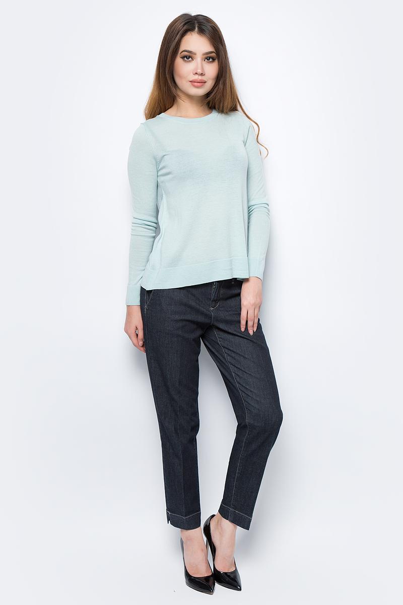 Брюки женские United Colors of Benetton, цвет: черный. 4AL1555I3_905. Размер 38 (40)4AL1555I3_905Стильные женские брюки United Colors of Benetton созданы специально для того, чтобы подчеркивать достоинства вашей фигуры. Брюки застегиваются на комбинированную застежку. Эти модные и в тоже время комфортные брюки послужат отличным дополнением к вашему гардеробу.