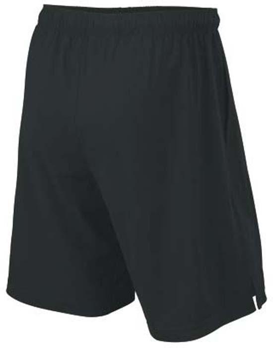 Шорты для тенниса мужские Wilson Rush 9 Woven, цвет:  черный.  WRA746603.  Размер L (52) Wilson