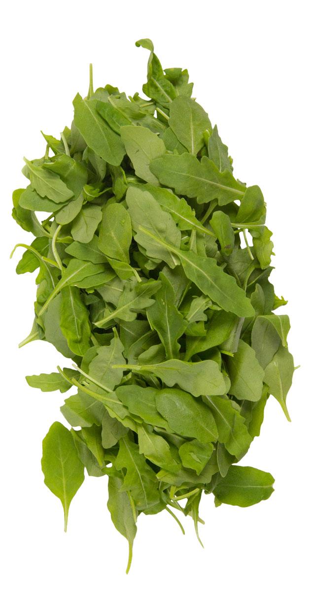 Зеленый сад Руккола, 125 г204515Руккола, или как ее еще называют, рокет-салат - это растение, упоминалось о котором еще во времена античности.Пряный горчичный вкус отлично дополняет общую композицию салата, украшает практически любое блюдо.1. В составе отмечено высокое содержание противораковых компонентов. Их в растении гораздо больше, чем даже в брокколи. Употребление рукколы отлично служит профилактикой предупреждения образования раковых клеток.2. Благодаря наличию витамина К предупреждается развитие различных кожных заболеваний, рокет-салат способствует быстрому снятию воспалений и заживлению ран.3. Повышает иммунитет, позволяет организму защищаться от вирусных инфекций различного происхождения.