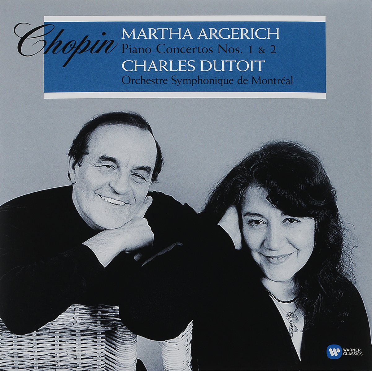 Martha Argerich, Charles Dutoit. Chopin. Piano Concertos Nos. 1 & 2 (2 LP)