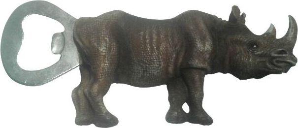 Открывалка Elff Decor Носорог, цвет: темно-коричневый, 12 см. 46 BO-6 A-3 поднос сервировочный elff decor цвет золотой