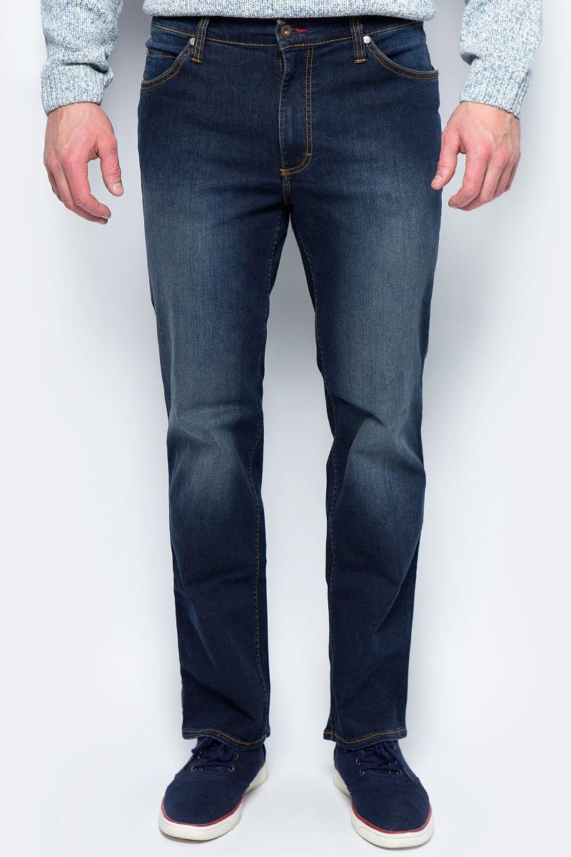 Джинсы мужские Mustang Tramper, цвет: темно-синий. 0111-5764-090_5000-941. Размер 31-32 (46/48-32) джинсы mustang 3166 5678 084