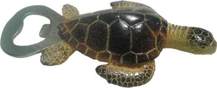 Открывалка-магнит Elff Decor Черепаха, цвет: темно-коричневый. 041 BO-5 C-1 ковш elff decor с крышкой с керамическим покрытием цвет белый зеленый 2 1 л