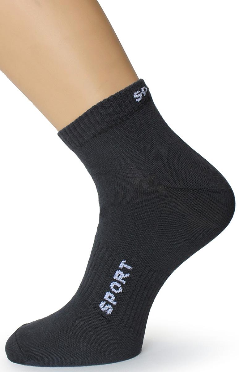 Носки мужские Touch Gold, цвет: серый. 185. Размер 27/29185Мужские носки выполнены из качественного материала. Эластичная резинка не перетягивает ногу, не нарушает кровообращения и не позволяет носку сползать во время активных движений.
