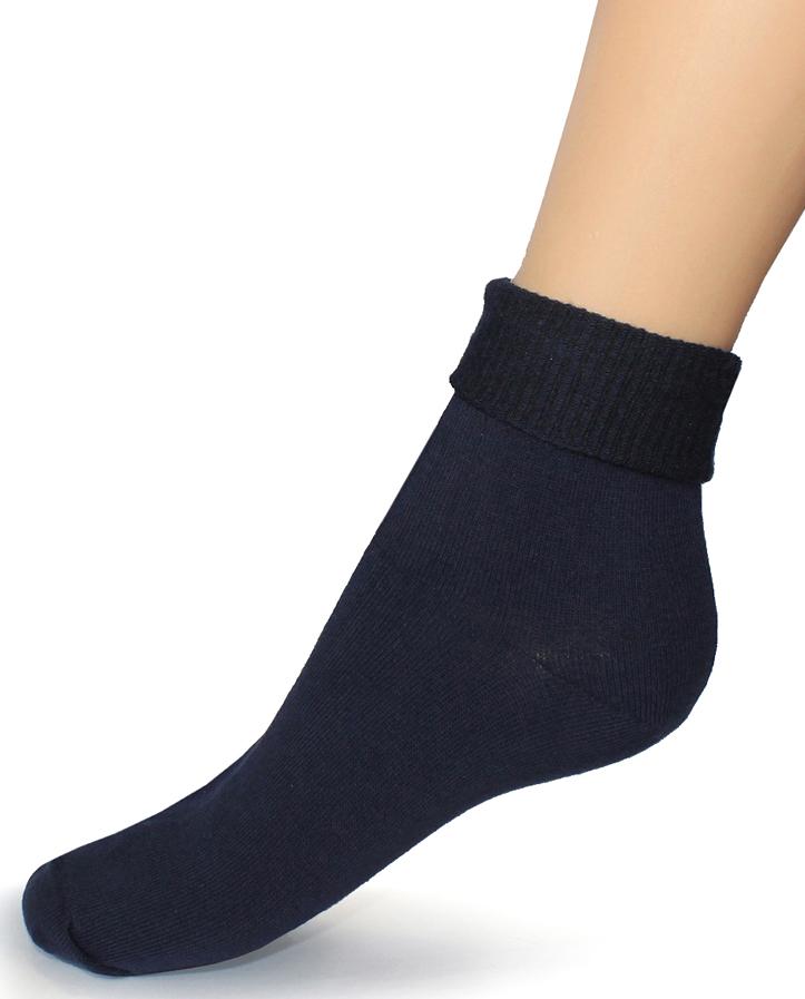 Носки женские Touch Gold, цвет: темно-синий. 261. Размер 23/25261Женские носки с ослабленной резинкой разработаны для покупателей, имеющих чувствительные и слабые ноги, атлетическую ступню, с диабетом, артритом и просто для тех, кто любит комфортное прилегание носков без перетягивания. Высокая ослабленная резинка позволяет фиксировать наиболее удобную длину, сделав отворот или равномерно распределив ее по голени. Позаботьтесь о себе и своих близких! На носках имеется стикер, выделяющий группу носков с ослабленной резинкой.