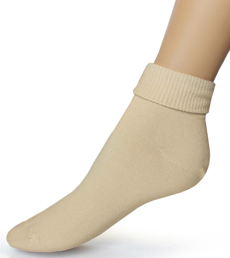 Носки женские Touch Gold, цвет: бежевый. 261. Размер 23/25261Женские носки с ослабленной резинкой разработаны для покупателей, имеющих чувствительные и слабые ноги, атлетическую ступню, с диабетом, артритом и просто для тех, кто любит комфортное прилегание носков без перетягивания. Высокая ослабленная резинка позволяет фиксировать наиболее удобную длину, сделав отворот или равномерно распределив ее по голени. Позаботьтесь о себе и своих близких! На носках имеется стикер, выделяющий группу носков с ослабленной резинкой.