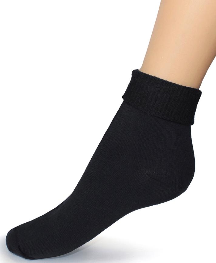 Носки женские Touch Gold, цвет: черный. 261. Размер 23/25261Женские носки с ослабленной резинкой разработаны для покупателей, имеющих чувствительные и слабые ноги, атлетическую ступню, с диабетом, артритом и просто для тех, кто любит комфортное прилегание носков без перетягивания. Высокая ослабленная резинка позволяет фиксировать наиболее удобную длину, сделав отворот или равномерно распределив ее по голени. Позаботьтесь о себе и своих близких! На носках имеется стикер, выделяющий группу носков с ослабленной резинкой.