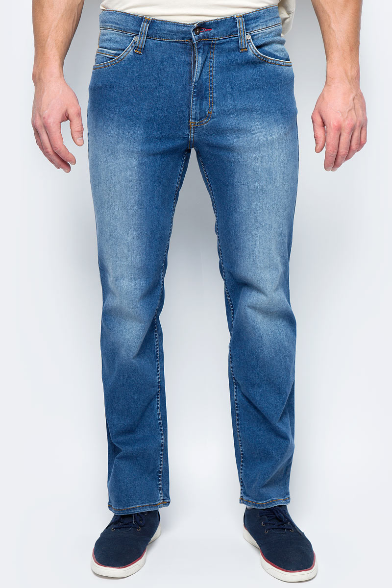 Джинсы мужские Mustang Tramper, цвет: светло-синий. 0111-5764-050_5000-311. Размер 32-32 (48-32) джинсы mustang 3166 5678 084