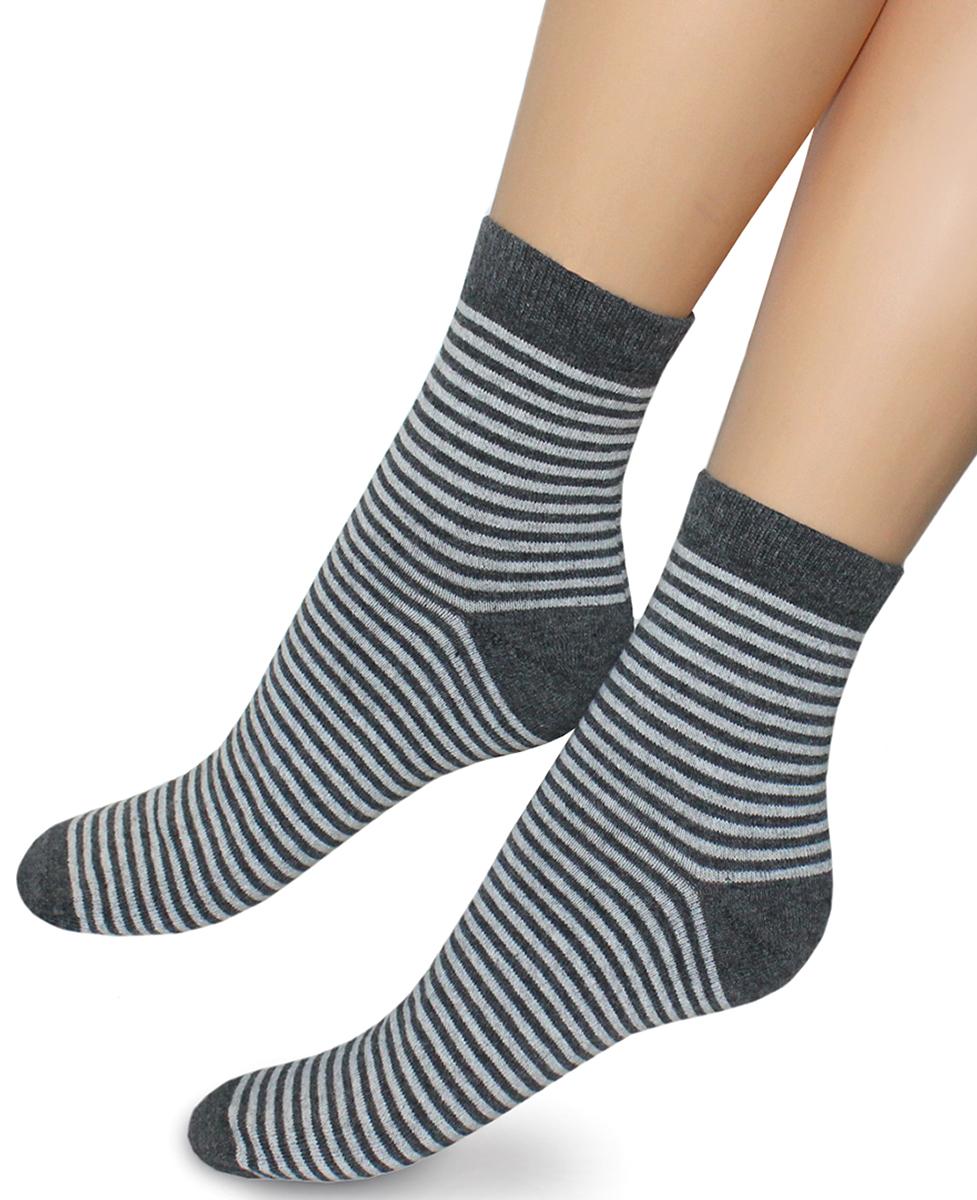 Носки женские Touch Gold, цвет: темно-серый. 348. Размер 23/25 носки женские брестские bamboo цвет темно серый 14с1501 024 размер 25