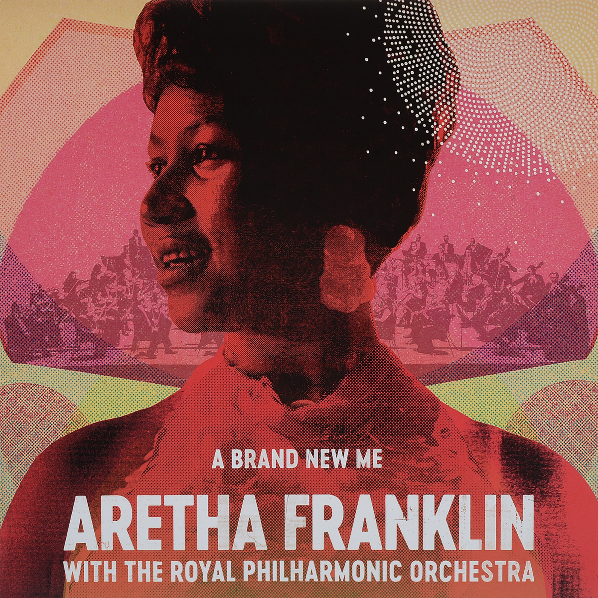 Арета Фрэнклин,The Royal Philharmonic Orchestra Aretha Franklin, Royal Philharmonic Orchestra. The A Brand New Me (LP) арета фрэнклин aretha franklin sings the great diva classics lp